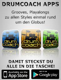 Drumcoach Apps - damit steckst du alle in die Tasche