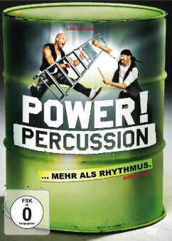 POWER! PERCUSSION MORE THAN RHYTHM... - DVD