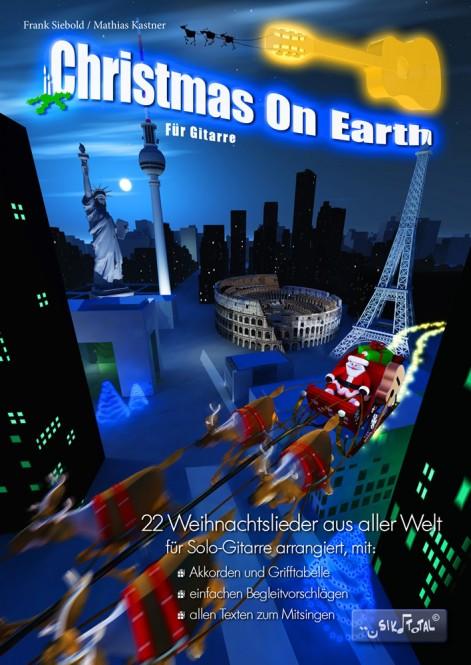 Christmas on Earth für Gitarre und Gesang